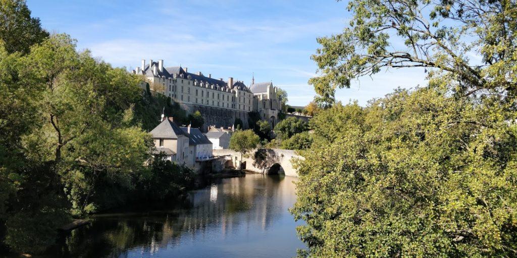 Château des ducs de la Trémoille à Thouars